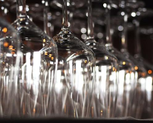 Griechisches Restaurant Kreta - Weingläser